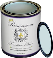 Renaissance Furniture Paint - Chalk Finish Paint - Tranquility - Crystaline Your Life
