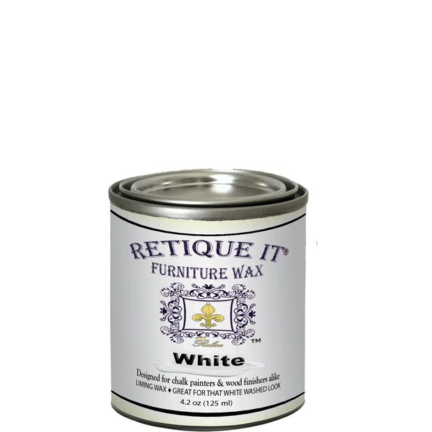 Retique It - Furniture Wax - White Wax - Crystaline Your Life