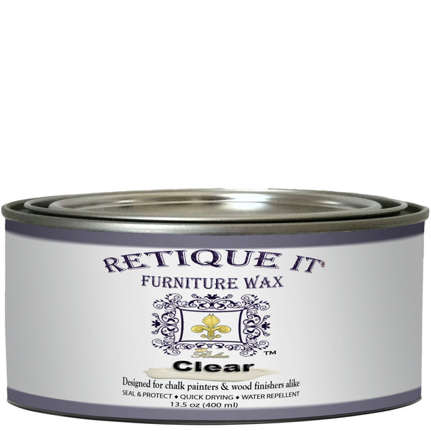 Retique It - Furniture Wax - Clear Wax - Crystaline Your Life