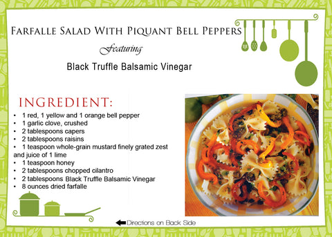 Farfalle Salad with Piquant Bell Peppers Recipe