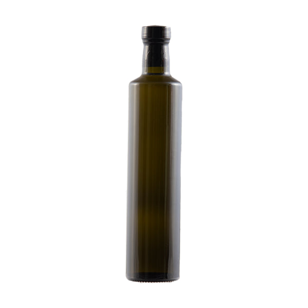 Bottle - 12/500ml Dorica Antique Green - Cibaria Store Supply