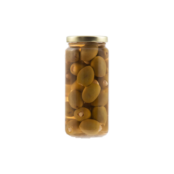 Stuffed Olives - Garlic 12/16oz. - Cibaria Store Supply