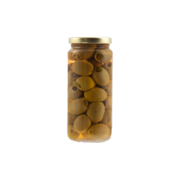 Stuffed Olives - Hickory Smoked Almond 12/16oz. - Cibaria Store Supply