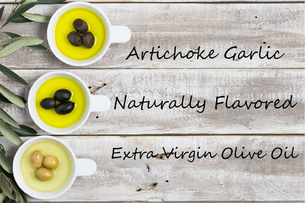 Flavored EVOO - Artichoke & Garlic - Cibaria Store Supply