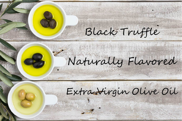 Flavored EVOO - Black Truffle - Cibaria Store Supply