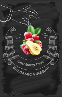 Balsamic Vinegar - Cranberry Pear