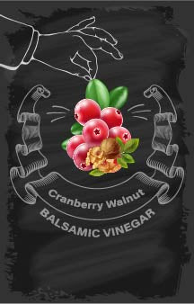 Balsamic Vinegar - Cranberry Walnut