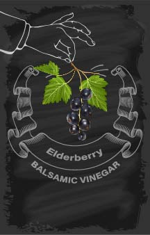 Balsamic Vinegar - Elderberry