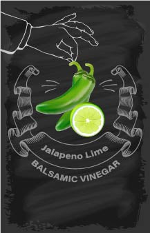 Balsamic Vinegar - Jalapeno Lime