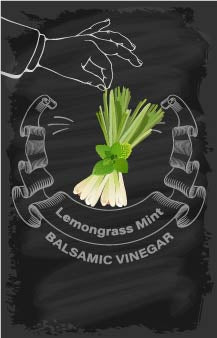 Balsamic Vinegar - Lemongrass Mint
