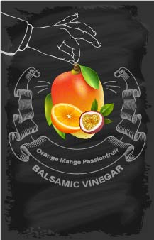 Balsamic Vinegar - Orange, Mango, Passion Fruit