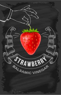 Balsamic Vinegar - Strawberry - Cibaria Store Supply
