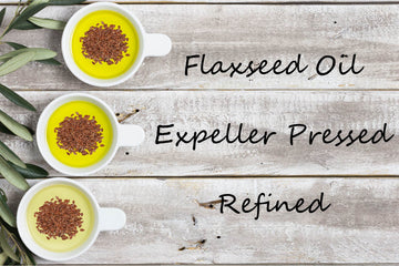 Specialty Oil - Flaxseed Oil - Expeller Pressed, Refined
