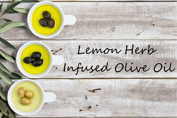 Infused Olive Oil - Lemon Herb