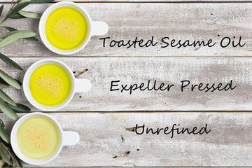 Organic - Specialty Oil - Toasted Sesame Oil - Expeller Pressed, Unrefined