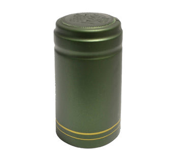 Security Seal - Green Capsule with Gold Stripes (60 Pack)