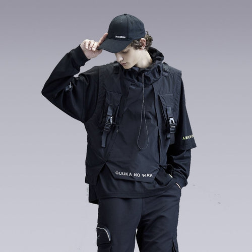 NO WAR TECHWEAR VEST - Clotechnow
