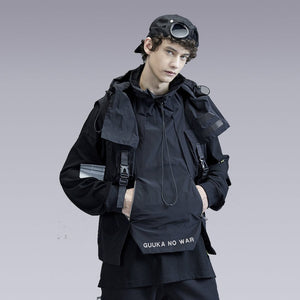 NO WAR FUNCTION TECHWEAR VEST - CLOTECHNOW