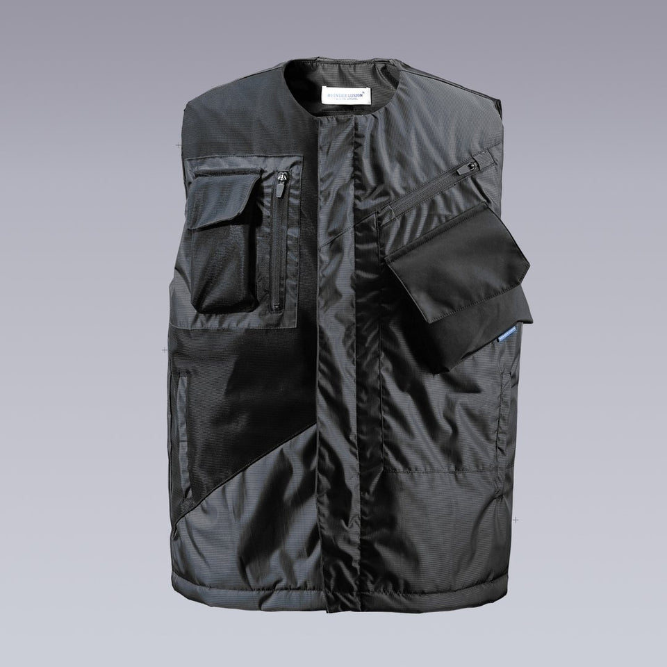 CLOTECH GEOMETRIC TACTICAL VEST - Clotechnow