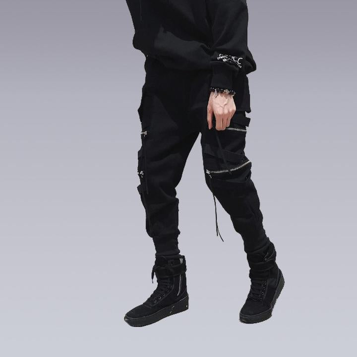 STREETWEAR ZIPPER PANTS - Clotechnow