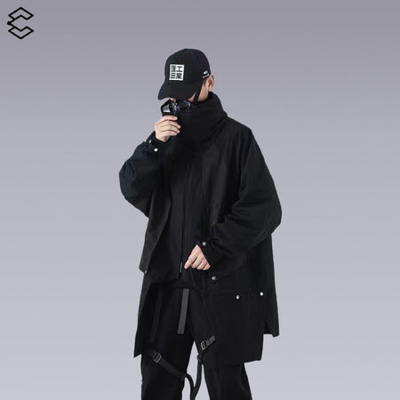 WARM AU-Y TECHWEAR CLOAK/JACKET FOR WINTER - CLOTECHNOW