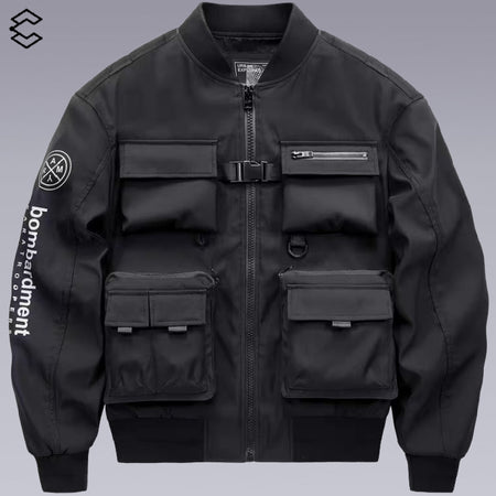 CLOTECH MA-1 TECHWEAR FUNCTIONAL JACKET | CLOTECHNOW