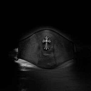 LEATHER CROSS MASK - Clotechnow