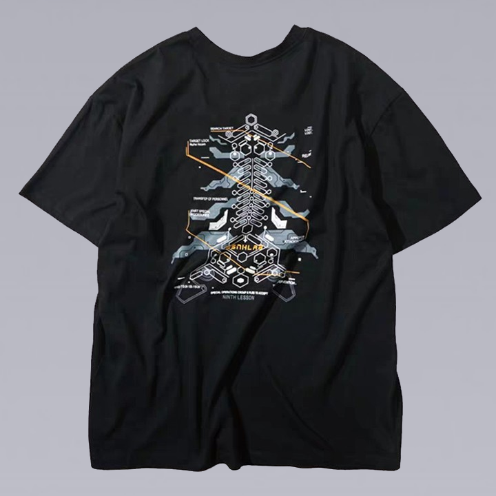 MECHANICAL 3D UNISEX T-SHIRT
