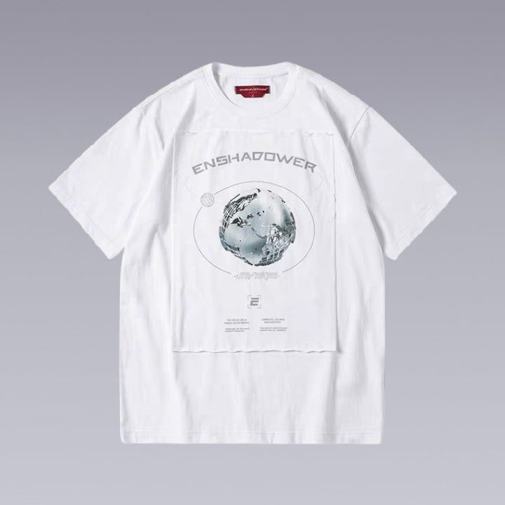 ENSHADOWER METAL PLANET T-SHIRT