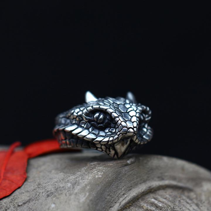OPHIDIAN PURE SILVER RING