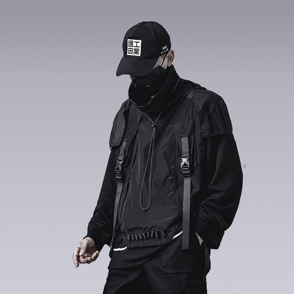 HOODED FUNCTIONAL VEST - TomTTom