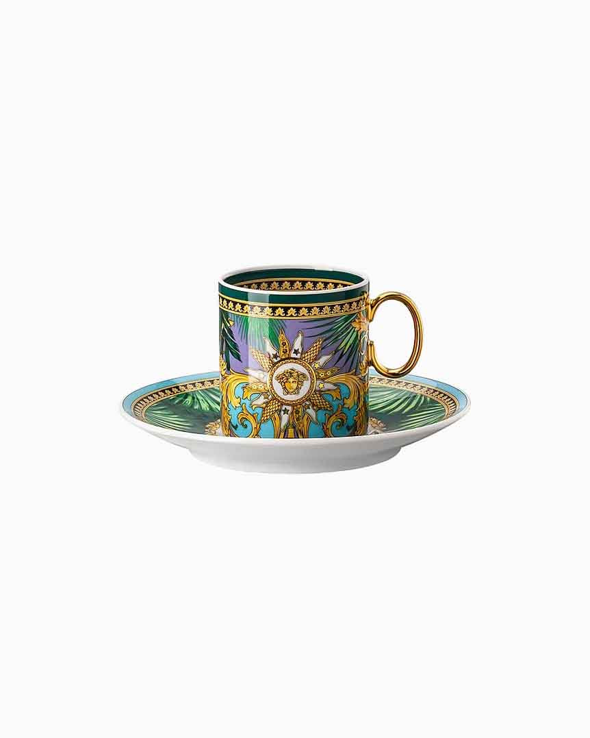 Versace Jungle Animal Espresso Cup and Saucer