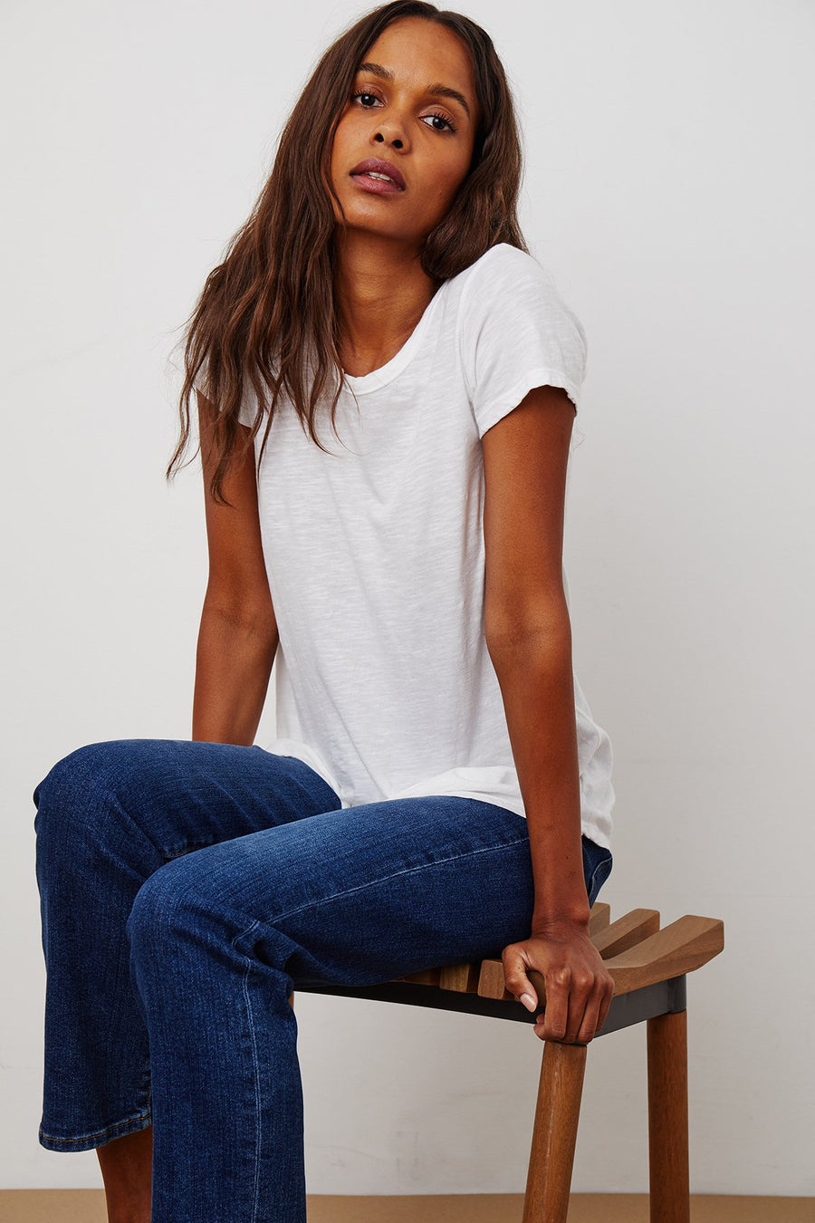 Velvet Tilly T-Shirt - White