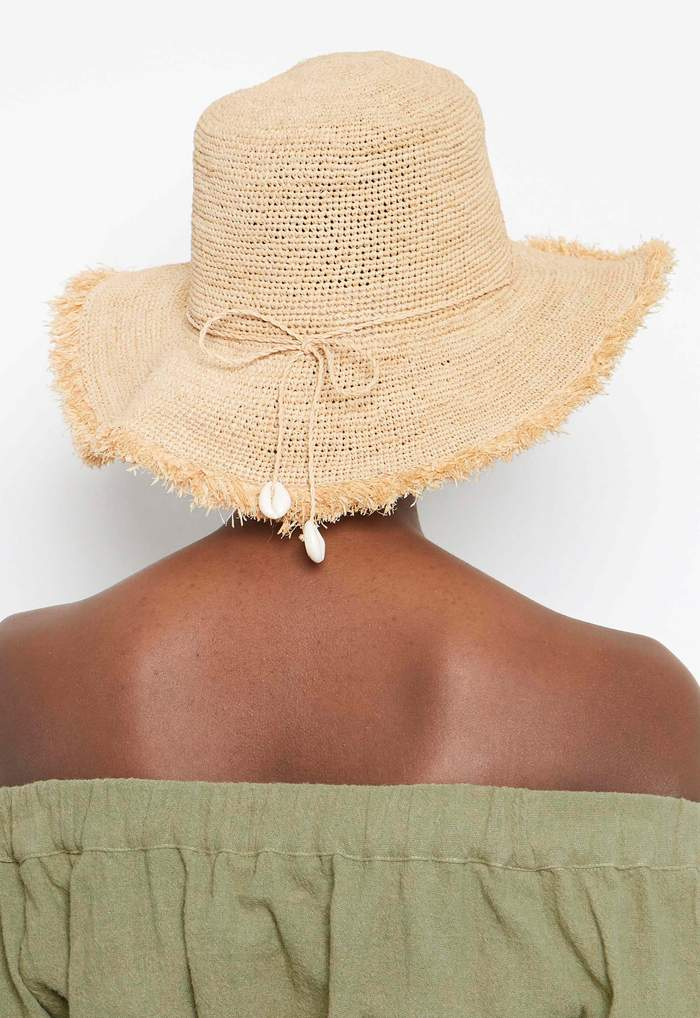 Avenue Angelina Sunhat - Natural