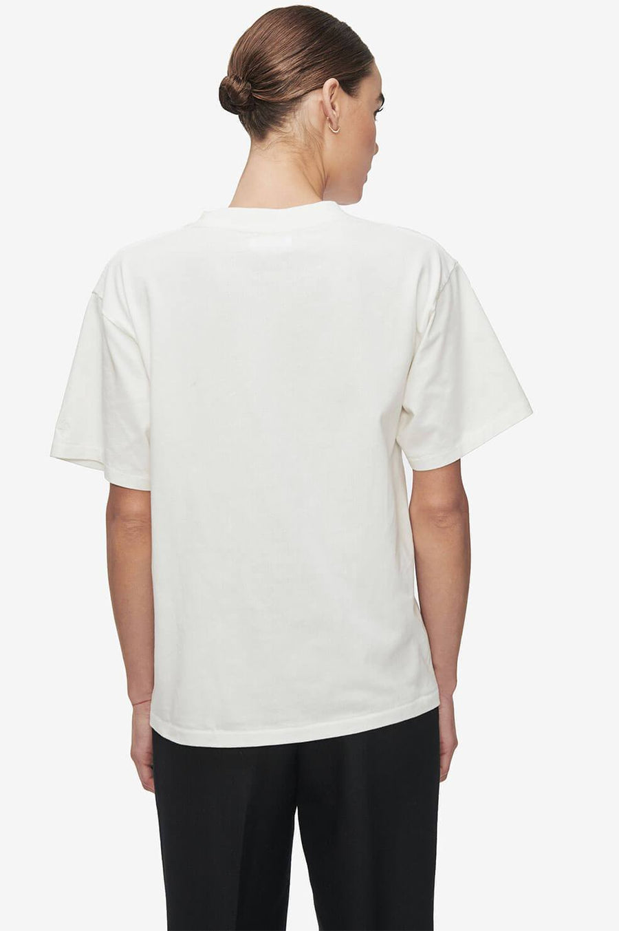 Anine Bing Ida Tee AB x TO - White