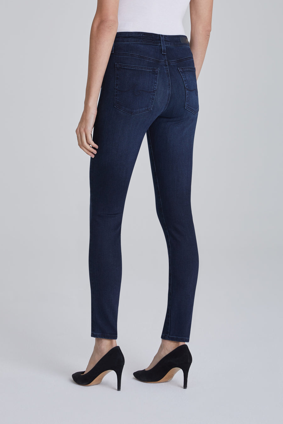AG Denim Farrah Skinny Ankle - Disarrayed