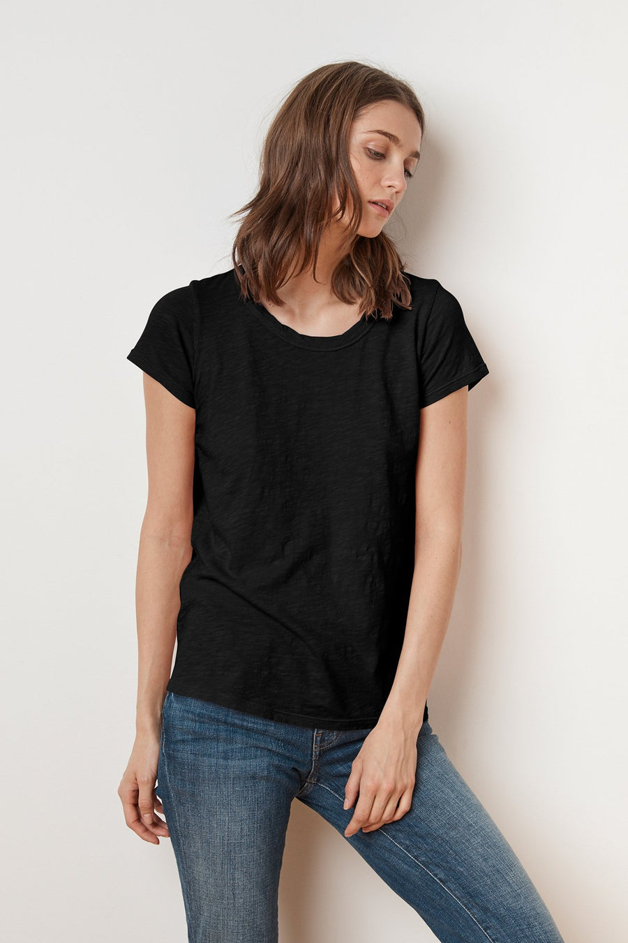 Velvet Tilly T-shirt - Black