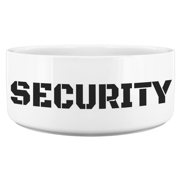 Dog Bowl - Security 🐾