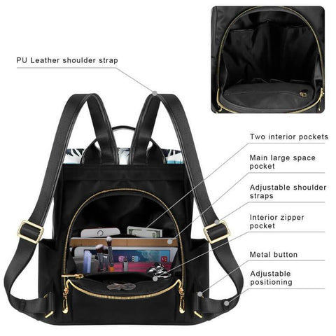 Fashion Women Travel Bag | New Design Waterproof School Bags | KAMO
