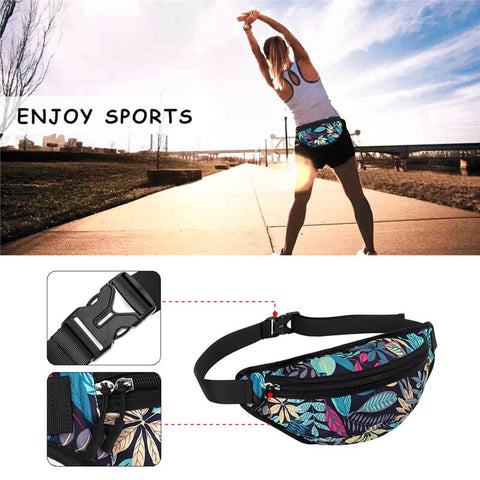 KAMO Fanny Pack | Waist Bag & Sling Backpack | Women Crossbody
