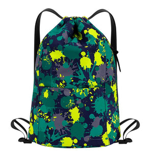 Kamo travel Bags | Drawstring Sports Backpack | Lightweight Gym Bag - KAMODEAL