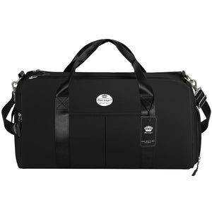 Fitness Gym Bag | Swim Travel Duffel Bag with Shoes Compartment and Wet Pocket - KAMO