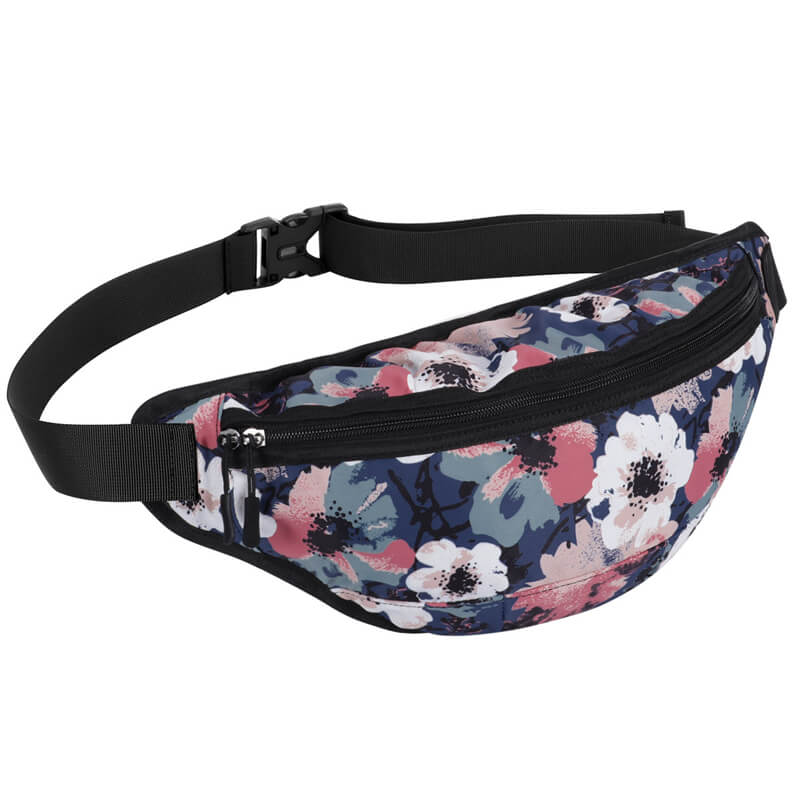 Kamo Backpack | Female's Leaves Backpack | Large Capacity Waist Bag - KAMODEAL