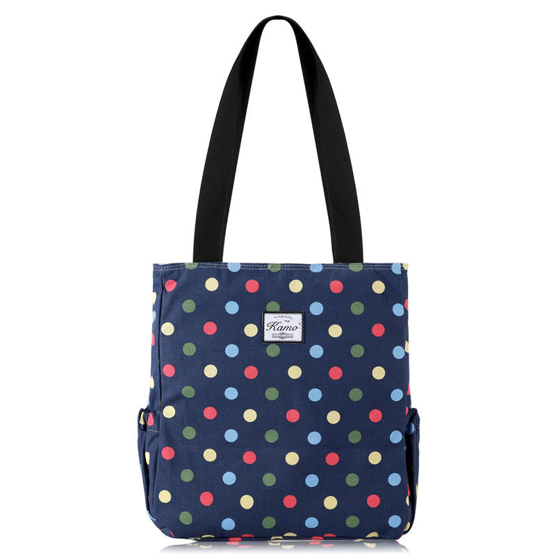 KAMO Tote Bag For Hiking Yoga Gym | Lightweight Handbags Travel Shoulder Bag - KAMODEAL
