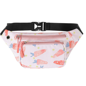 Kamo Cartoon Fanny Pack | Outdoor Lightweight Crossbody Daypack | Waist Bags - KAMO