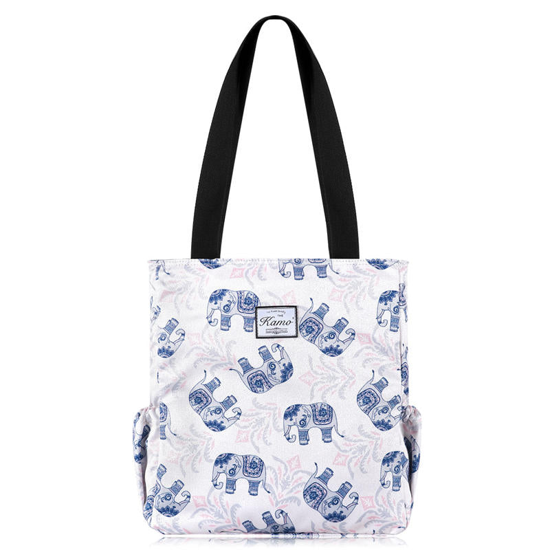 Kamo Customize Tote Bag | Travel Shoulder Bag for Hiking Yoga Gym - KAMODEAL