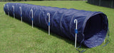18' Tunnel with Stakes - Dog Agility USA