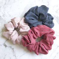 Striped Scrunchie