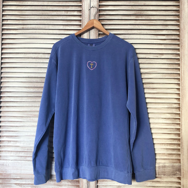SAMPLE Periwinkle Sweater