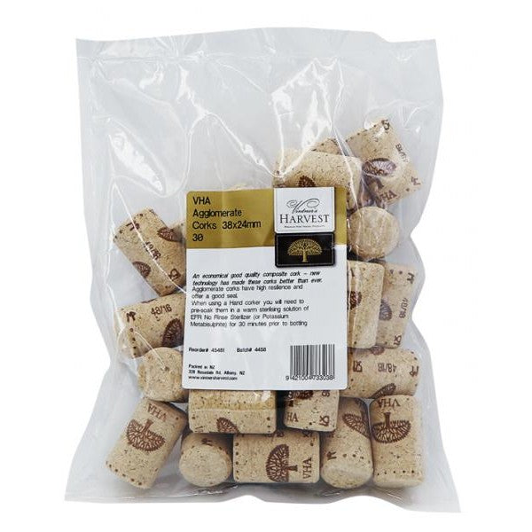 VHA Agglomerate Corks (38x23.5mm) o/s supplier